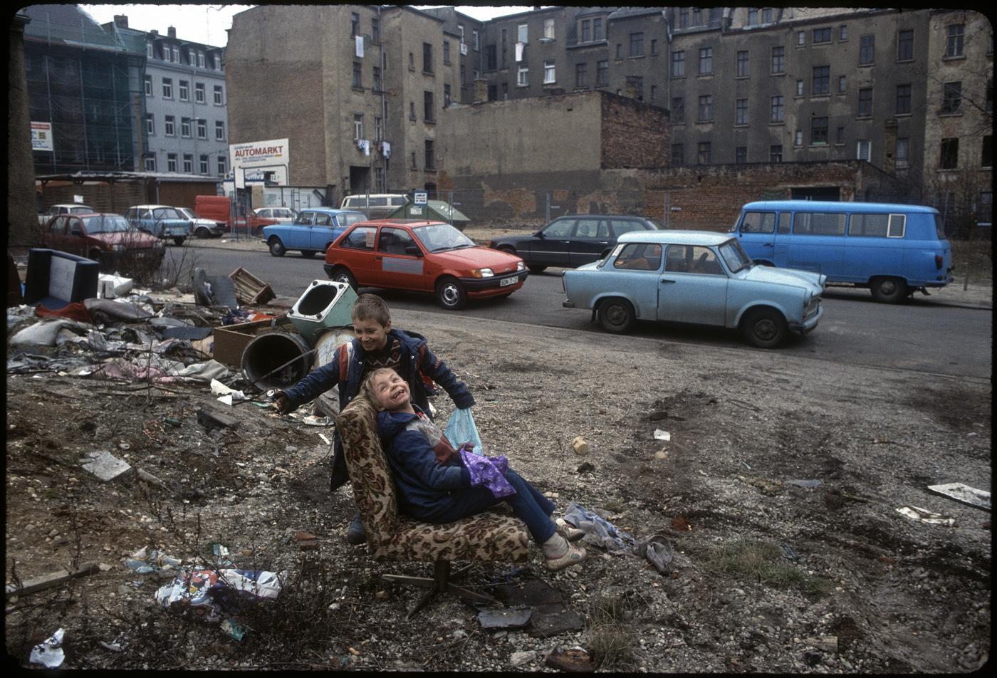 Leipzig, Prager Straße, 1992