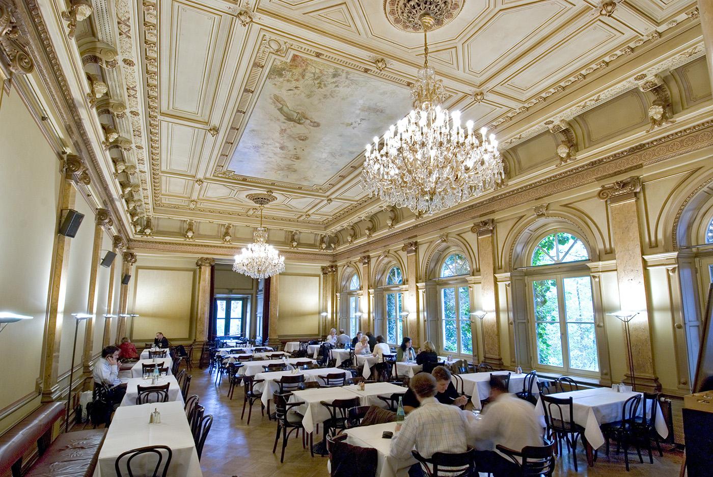 Literaturhauscafe. Cafe des Literaturhauses