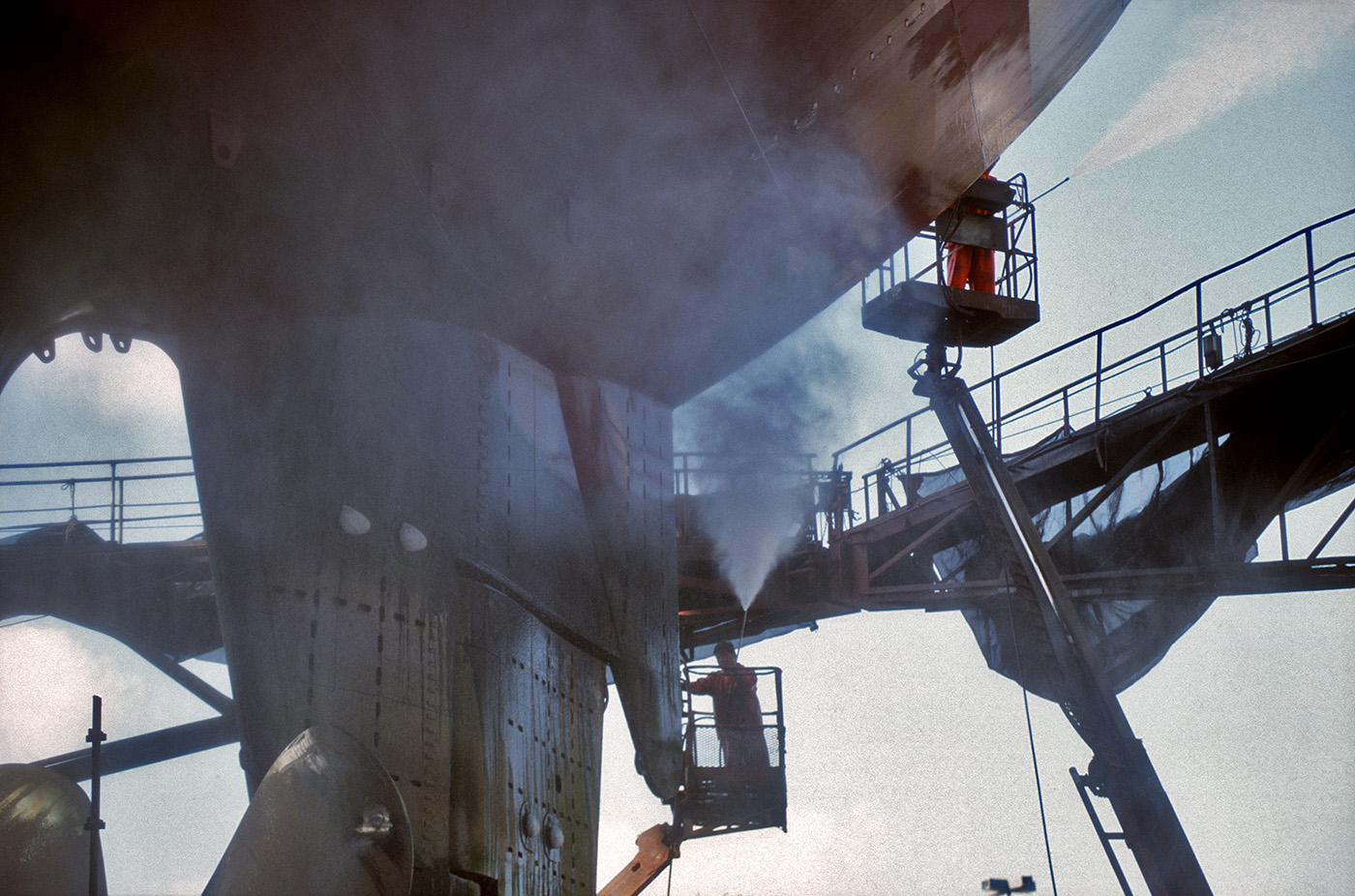 Sitas Werft, Trockendock