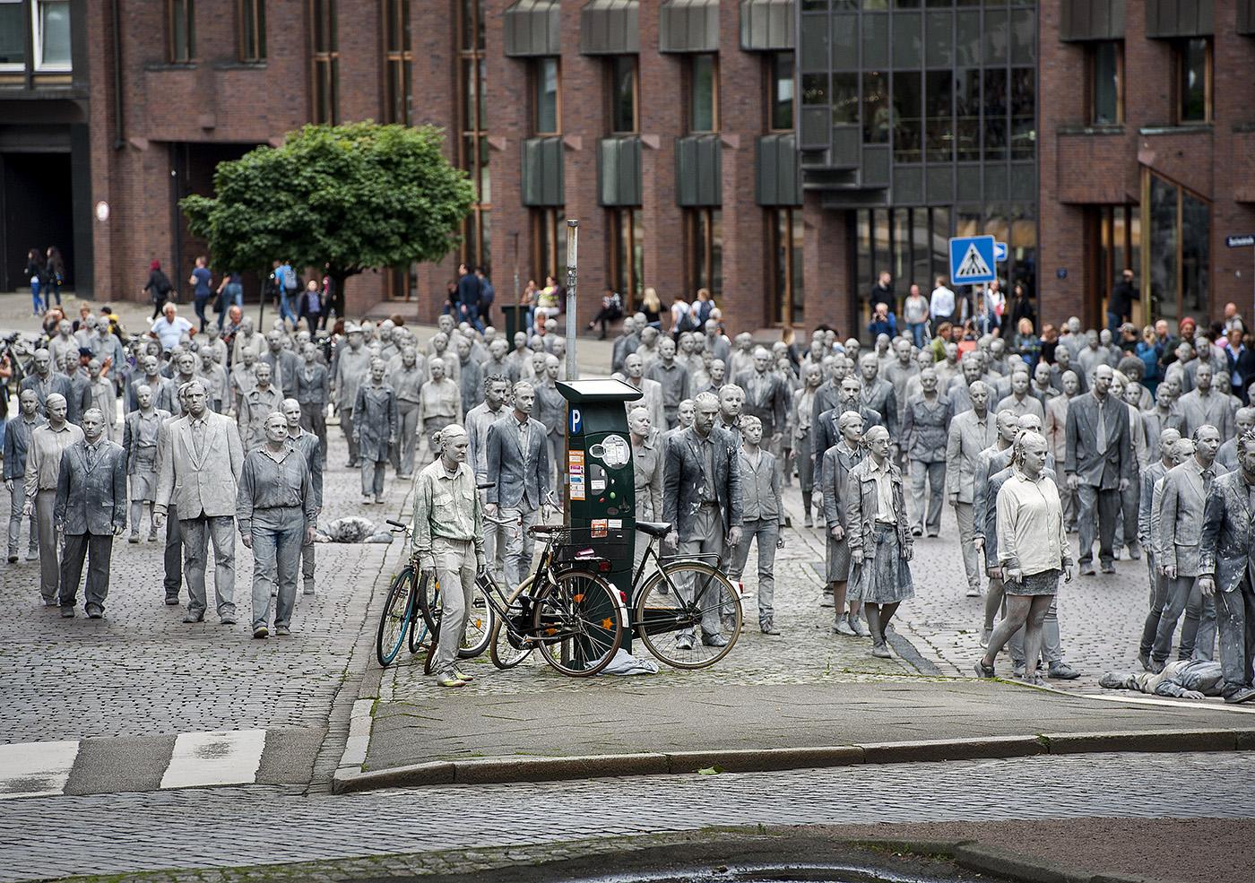 1000gestalten, G20-ProtestPerformance