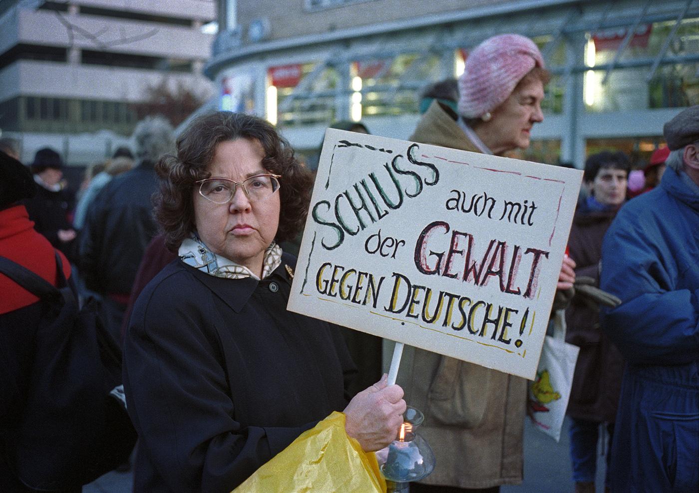 Demo der Altonaer Kaufmannschaft, 1992