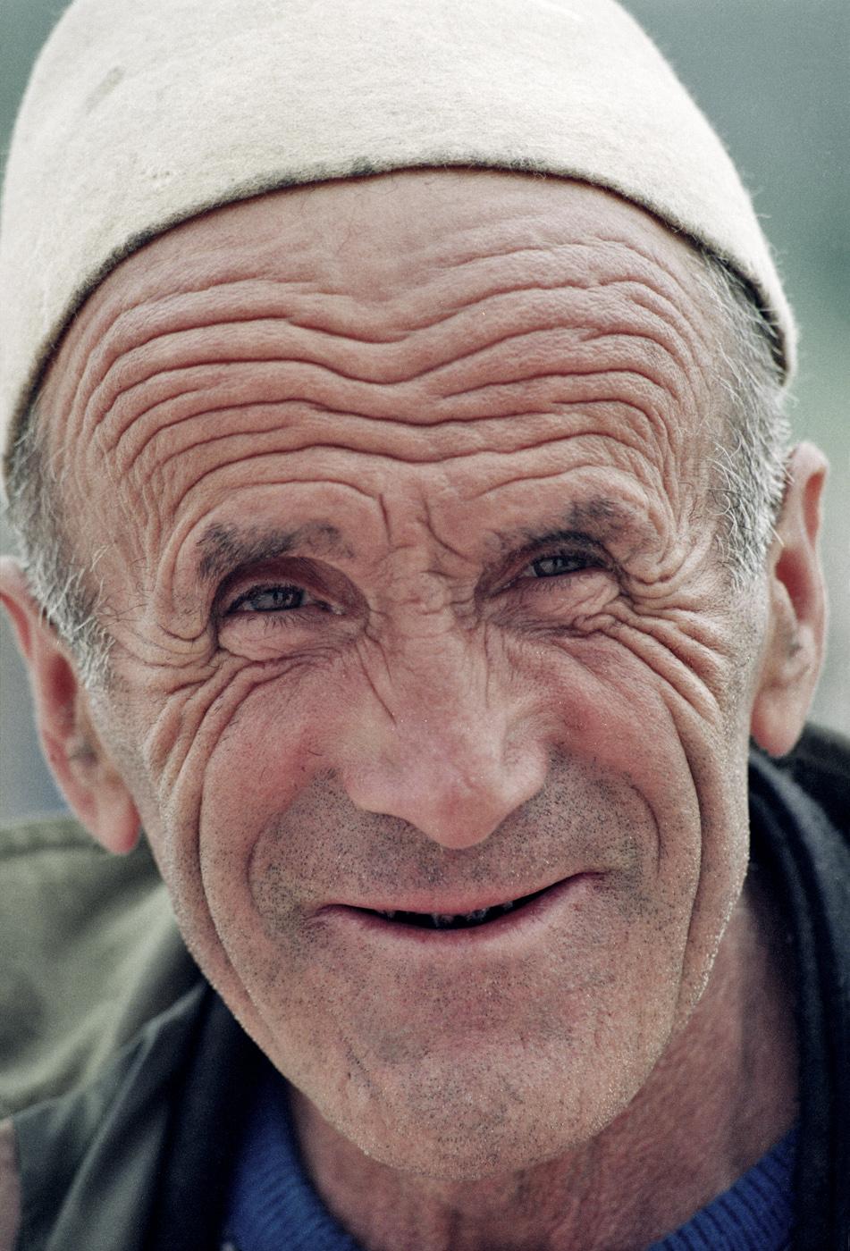 Kosovo-Flüchtling, 1999, Skopje, Mazedonien