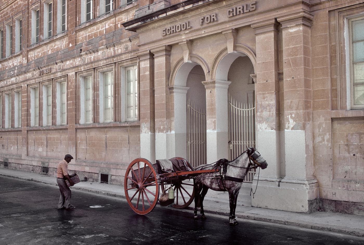 Schrotthändler in Mosta, Malta