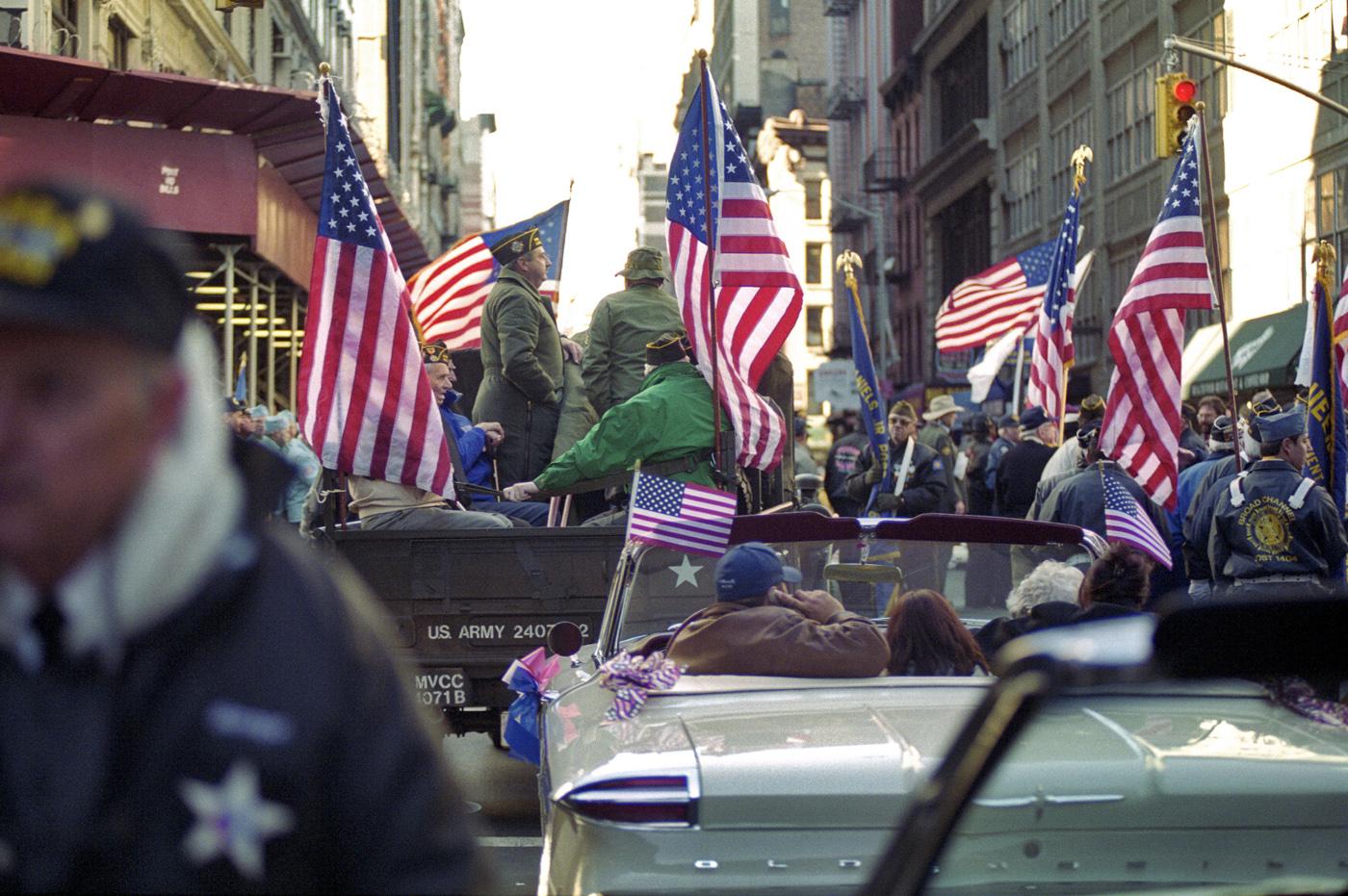Veterans Day Parade, Manhattan, NYC