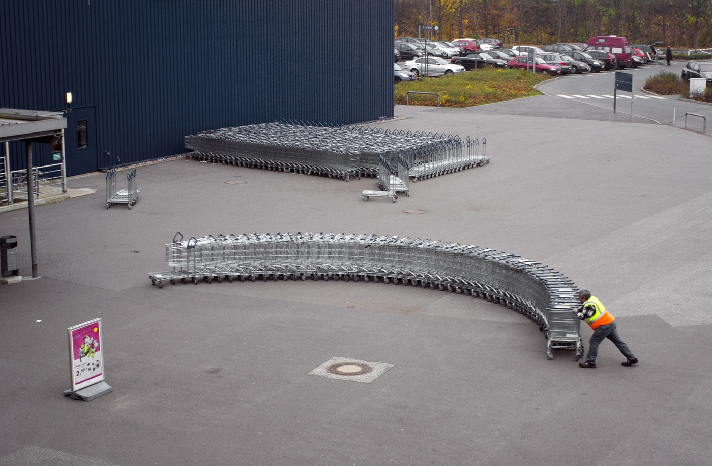 IKEA-Mitarbeiter in Hamburg