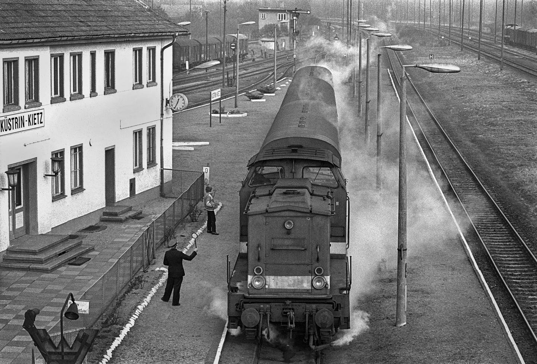 Bahnhof in Küstrin-Kietz
