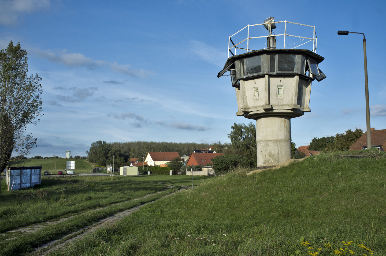 Hötensleben. ehemalige innerdeutsche Grenze