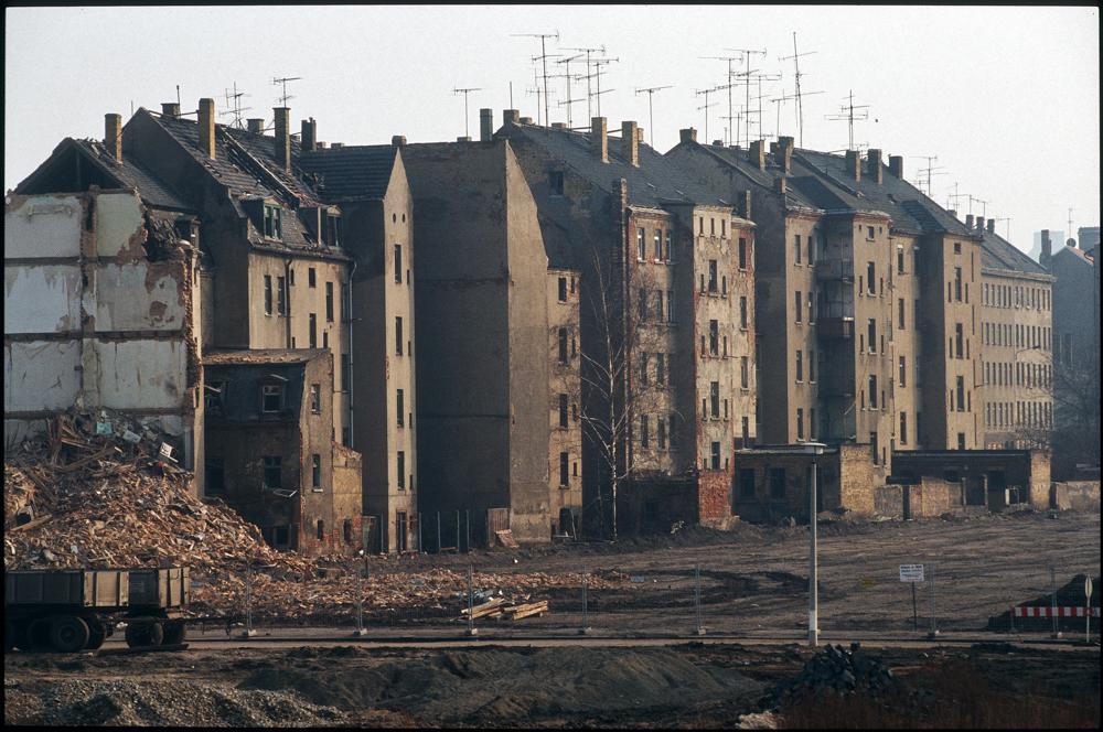Prager Straße, Leipzig '92