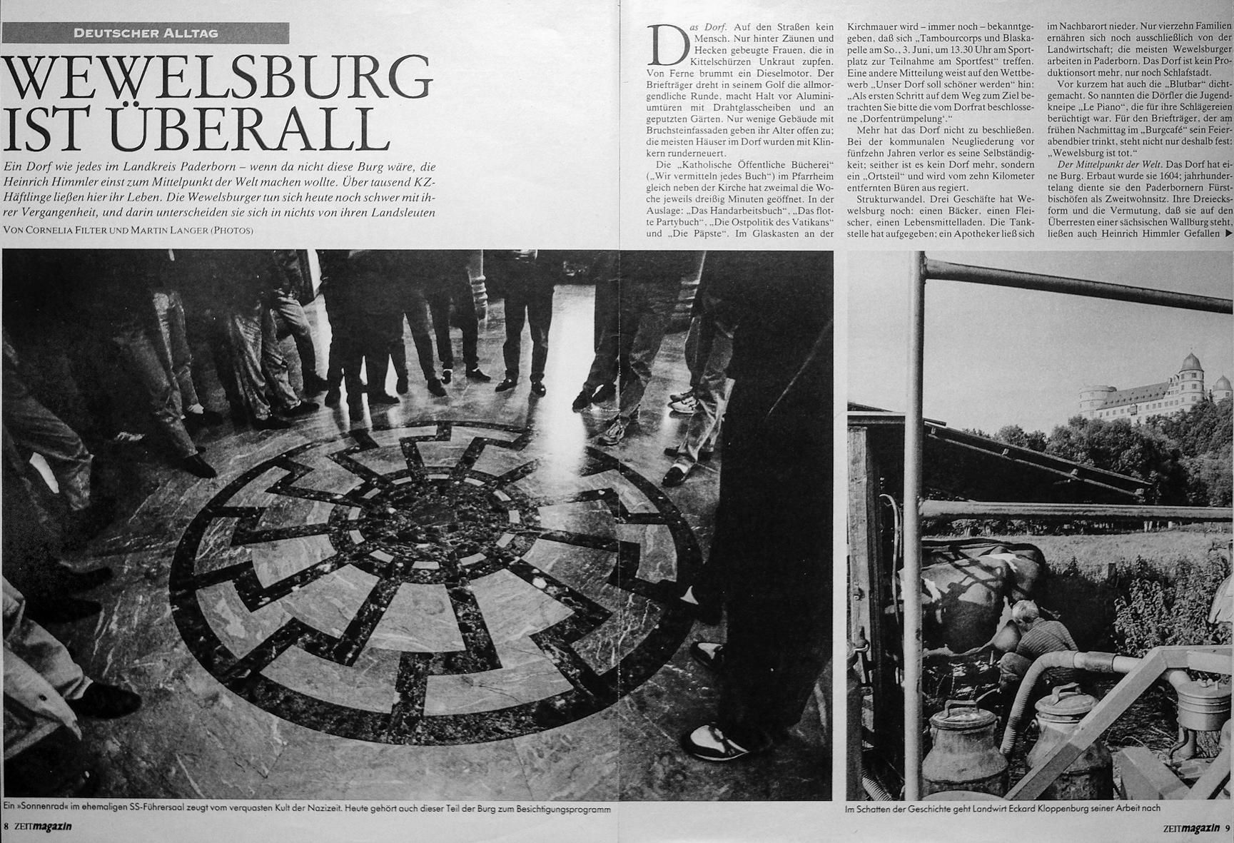 Veröffentlichung im Zeit-Magazin